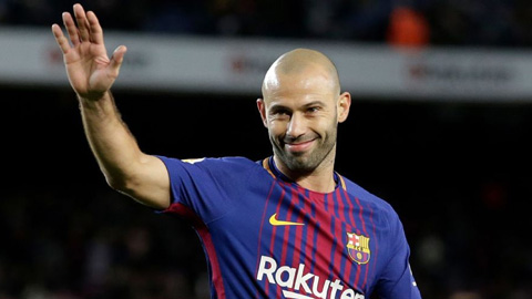 Mascherano chia tay Barca: Tạm biệt kẻ làm nền vĩ đại