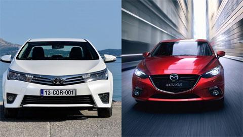 Xuất hiện tin đồn Toyota sắp mua lại Mazda