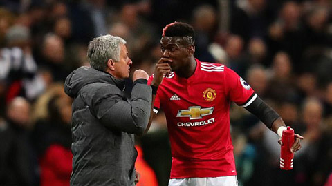 Nghi vấn Pogba mâu thuẫn nghiêm trọng với Mourinho