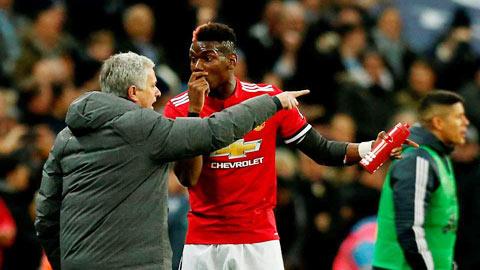 Bây giờ, Pogba là vấn đề của Mourinho
