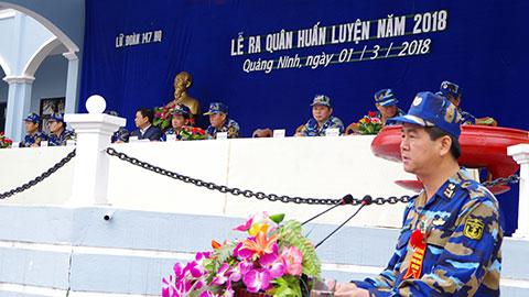 Lữ đoàn 147 Hải quân tổ chức Lễ ra quân huấn luyện năm 2018