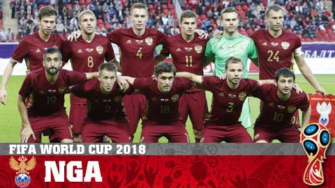Chân dung ĐT Nga ở World Cup 2018
