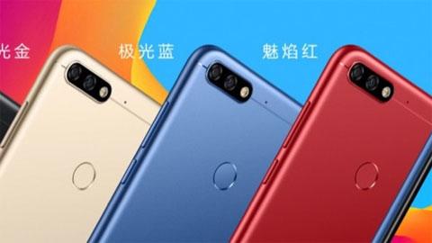 Smartphone sở hữu màn hình 18:9, camera kép 13MP, giá 3,2 triệu