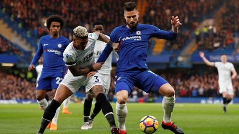Khả năng oanh tạc tầm cao của Giroud sẽ mở ra cơ hội cho Chelsea