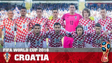 Chân dung ĐT Croatia ở World Cup 2018