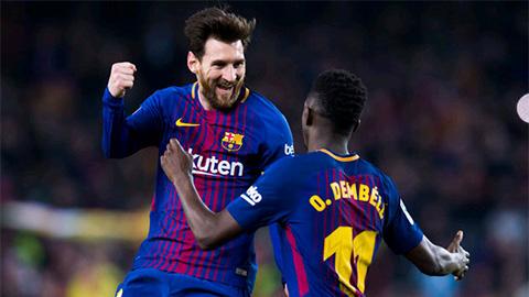 Bầu chọn cầu thủ xuất sắc nhất trận Barca 3-0 Chelsea