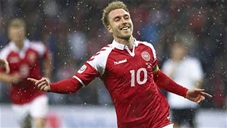Ngôi sao ĐT Đan Mạch: Christian Eriksen