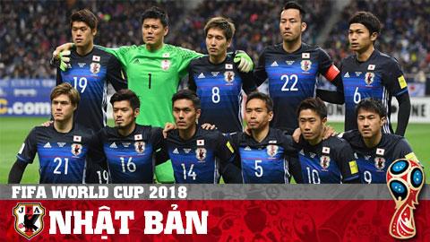 Chân dung ĐT Nhật Bản ở World Cup 2018