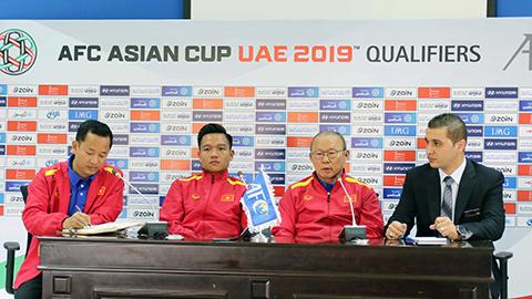 ĐT Việt Nam quyết đánh bại Jordan ngay tại sân khách