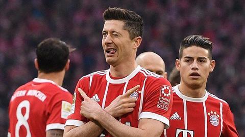 Bayern chỉ còn cách danh hiệu Bundesliga 1 trận