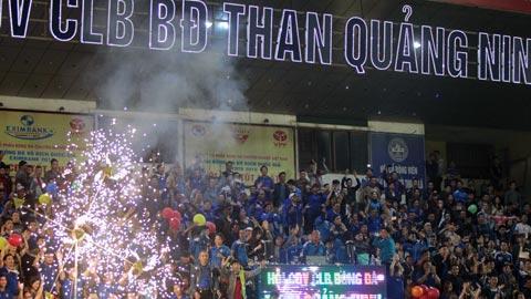 Hội CĐV Than.QN vẫn là điểm sáng của  V.League