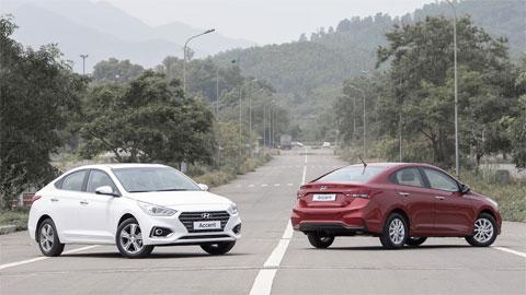 Hyundai Accent 2018 giá từ 425 triệu, quyết đấu Toyota Vios