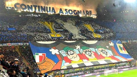 Serie A ghi nhận tiền bán vé kỷ lục từ cặp Inter vs Juventus