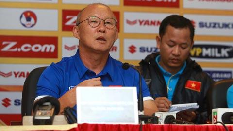 HLV Park Hang Seo không dự lễ bốc thăm chia bảng AFF Suzuki Cup 2018
