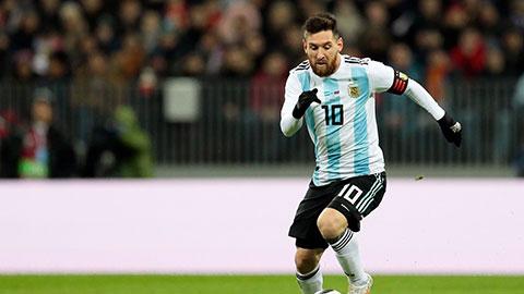 Messi đã sẵn sàng chinh phục nước Nga