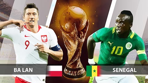 Dự đoán World Cup 2018: Ba Lan vs Senegal