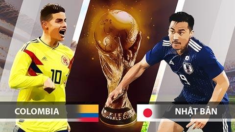 Dự đoán World Cup 2018: Colombia vs Nhật Bản