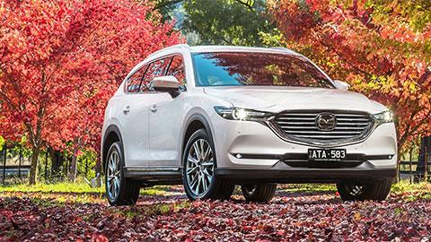 Mazda CX-8 động cơ diesel có giá cao bất ngờ