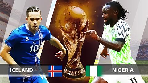 Dự đoán World Cup 2018: Iceland vs Nigeria