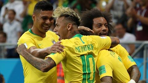 ĐT Brazil: Lo lắng dư thừa
