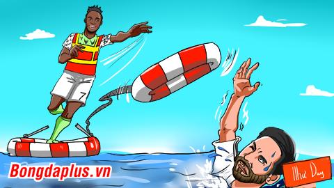 Musa 'trục vớt' Messi