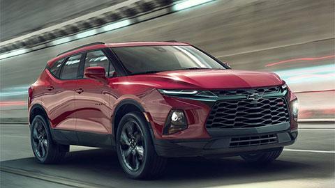 Chevrolet Blazer 2019 ra mắt với thiết kế tuyệt đẹp, động cơ siêu khỏe