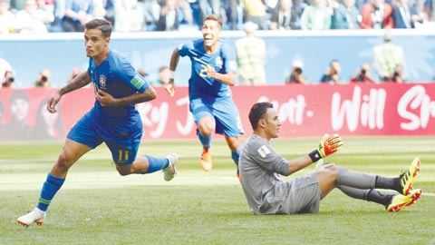 Khi Coutinho là 'ân nhân' của Neymar