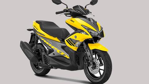 Mẫu xe tay ga 'đẹp long lanh' của Yamaha giá chỉ 33 triệu đồng