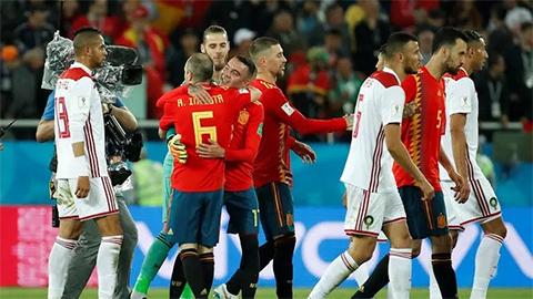 Tây Ban Nha thêm một lần sung sướng nhờ VAR