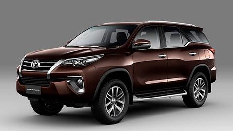Toyota Fortuner 2018 sắp về Việt Nam với giá 1,1 tỷ