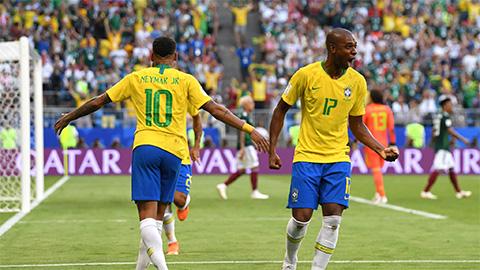 Bầu chọn cầu thủ xuất sắc nhất trận Brazil 2-0 Mexico
