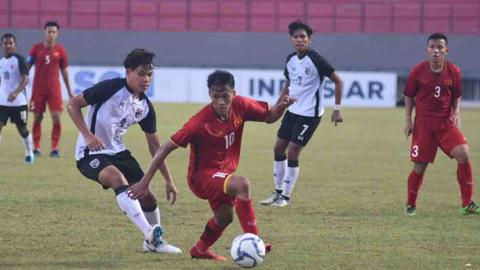 Giải U19 ĐNÁ 2018: Việt Nam hạ Philippines 5 bàn không gỡ