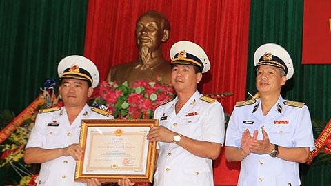 Lữ đoàn 147 kỷ niệm 40 năm thành lập và đón nhận Huân chương Bảo vệ Tổ quốc hạng Ba