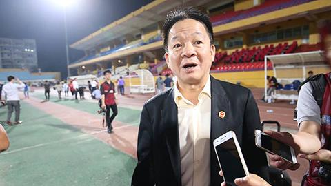 Bầu Hiển 'dọa' phạt Hà Nội FC sau chiến thắng đậm trước TP.HCM
