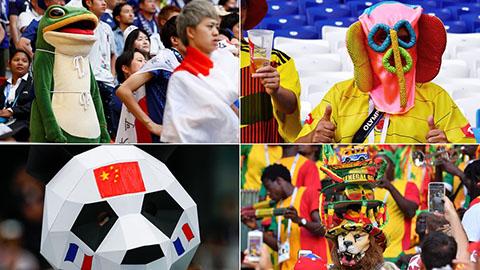 Những hình ảnh World Cup 2018 'khó đỡ' trên khắp hành tinh