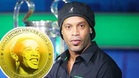 Ronaldinho phát hành tiền điện tử