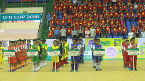 Khai mạc Vòng Chung kết Giải bóng đá Nhi Đồng toàn quốc 2018