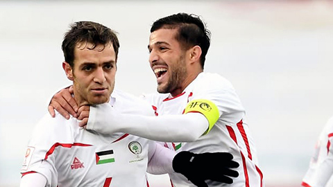 Palestine mang bộ đôi thi đấu ở châu Âu sang gặp Olympic Việt Nam