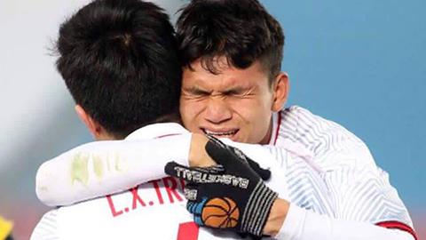 Xuân Mạnh tập trung sớm với Olympic Việt Nam