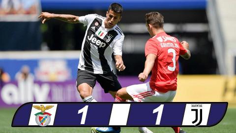 Benfica 1-1 Juventus (pen 2-4): Bà đầm già thắng nhọc