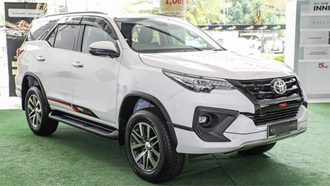 Toyota sắp bán loạt xe mới tại thị trường Việt Nam