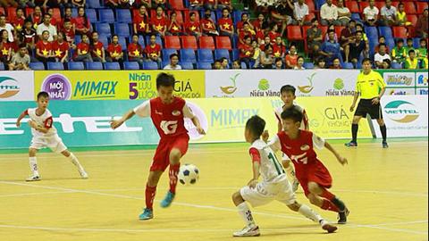 Giải U11 QG - cúp Viettel 2018: SLNA và Hưng Yên vào chung kết