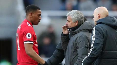Martial không hối tiếc đã làm HLV Mourinho nổi giận