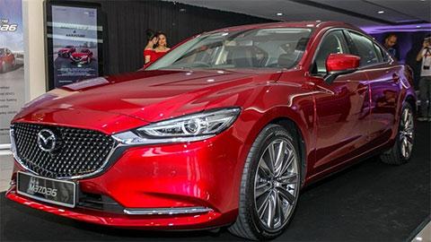 Cận cảnh Mazda 6 2018 đẹp mê ly sắp cập bến thị trường Việt Nam