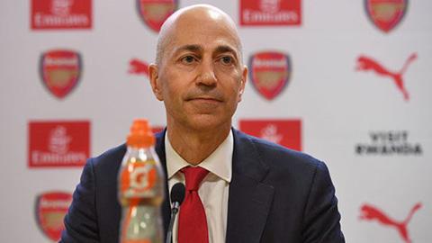 Sếp lớn Arsenal được AC Milan trải thảm đỏ