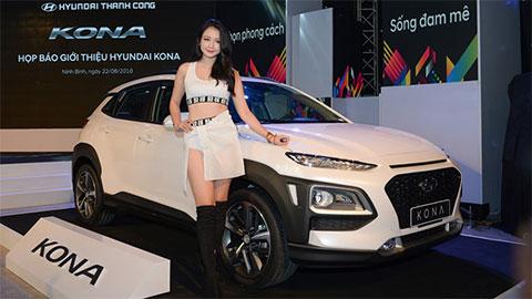 Hyundai Kona ra mắt thị trường Việt Nam giá từ 615 triệu