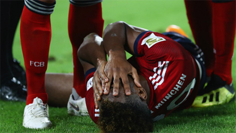 Sao Bayern đứt dây chằng mắt cá, dự kiến nghỉ vài tuần