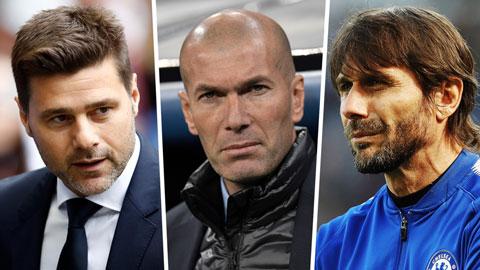 Zidane, Pochettino và những ƯCV thay thế Mourinho tại M.U
