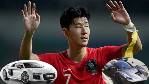 Loạt siêu xe sang chảnh của Son Heung-Min