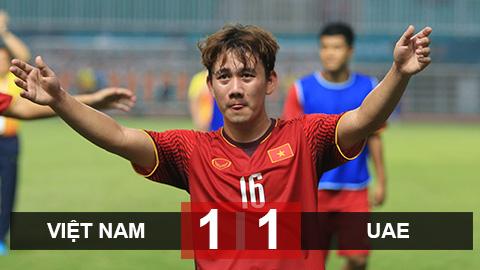 O.Việt Nam 1-1 (pen 3-4) O.UAE: Việt Nam đứng hạng Tư châu Á